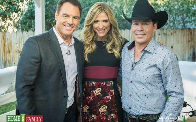 CLAY WALKER PERFORMS ON HOME & FAMILY